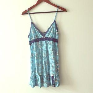 Victoria's Secret Angel blue cotton nightie, S